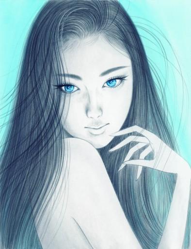 Sweet Lover Blue eyes angel