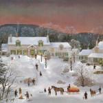 ニューイングランドの冬