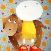 All is Love(犬と女の子)